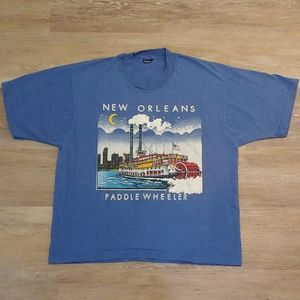 Vintage New Orleans Paddle Wheeler T-Shirt